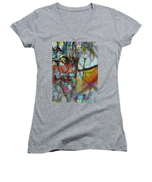 Spirit Quest Women's V-Neck T-Shirt