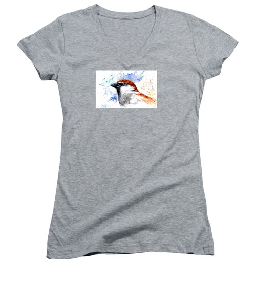 Splendid Sparrow Women's V-Neck