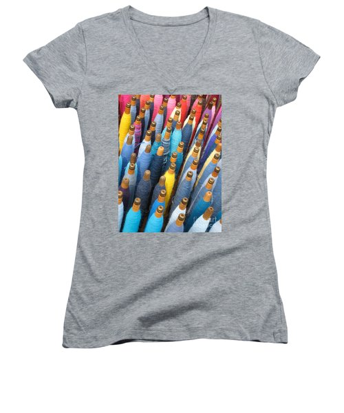 Spools 2 Women's V-Neck T-Shirt