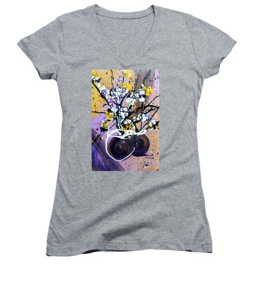 Spreading Joy Women's V-Neck T-Shirt