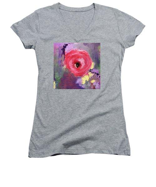 Spring Beauty Women's V-Neck T-Shirt (Junior Cut)