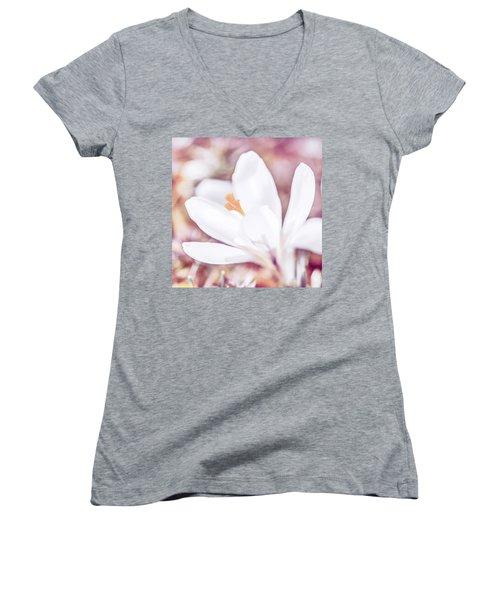 Spring Bloom Women's V-Neck