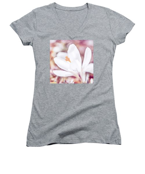 Spring Bloom Women's V-Neck