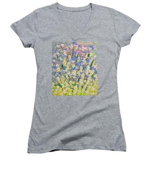 Spring Dreams Women's V-Neck T-Shirt