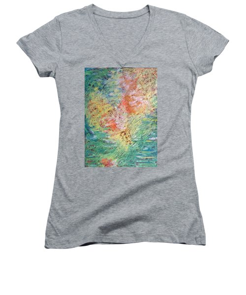 Spring Ecstasy Women's V-Neck T-Shirt