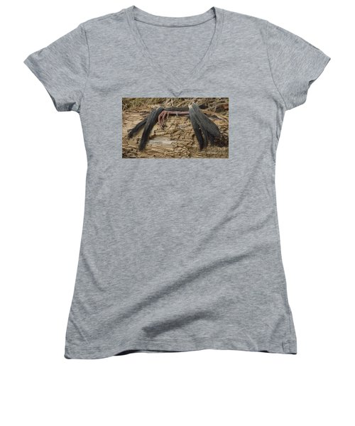 Spring Feathers Women's V-Neck