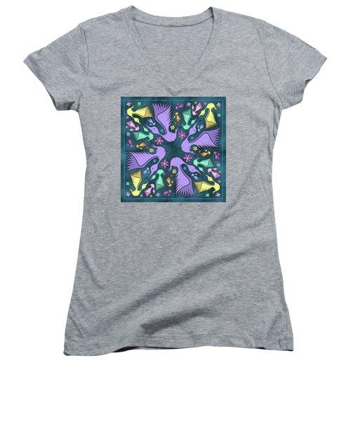 Spring Fling Women's V-Neck T-Shirt