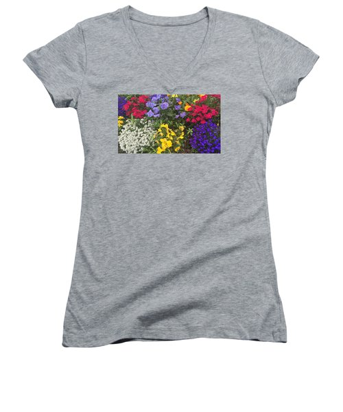 Spring In My Step Women's V-Neck T-Shirt