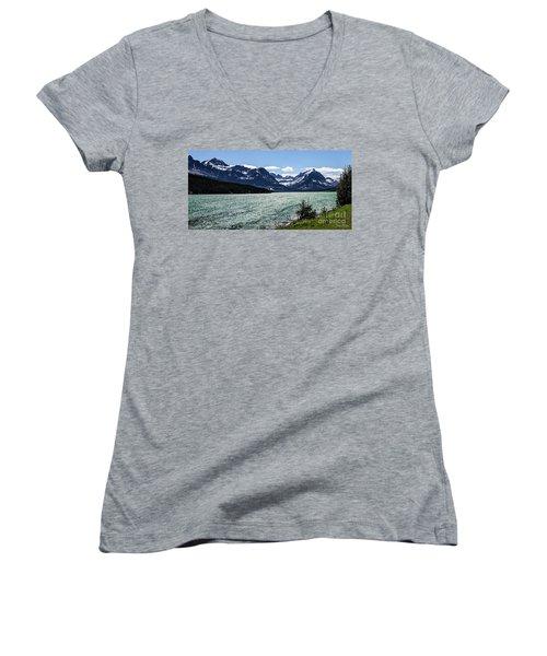 Many Glacier Women's V-Neck