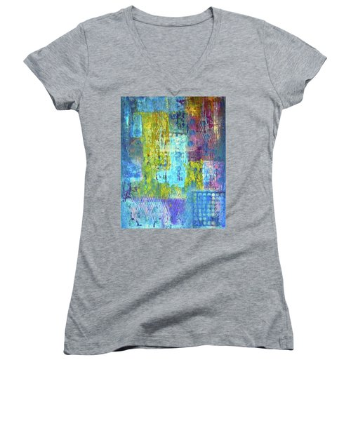 Spring Into Summer Women's V-Neck T-Shirt