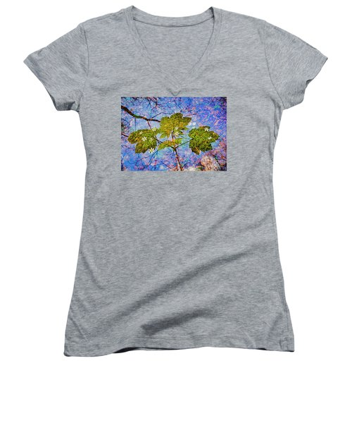 Spring Is In The Air-2 Women's V-Neck T-Shirt (Junior Cut)