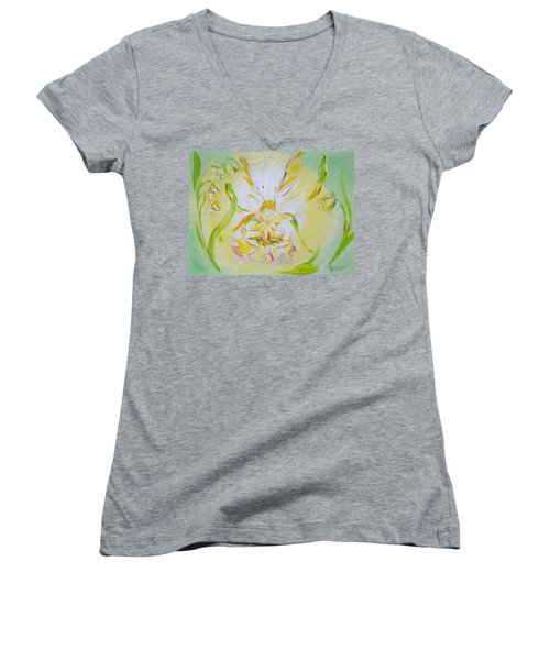 Spring Light Women's V-Neck T-Shirt