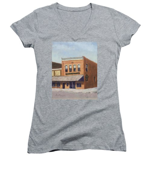 Spring Morning Downtown Women's V-Neck (Athletic Fit)