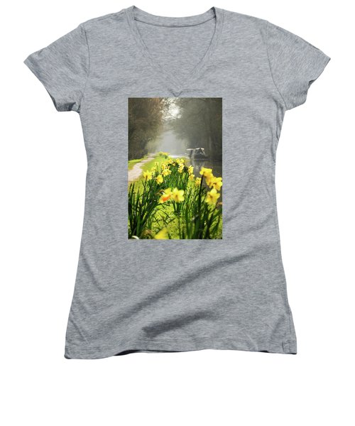Spring Morning Women's V-Neck