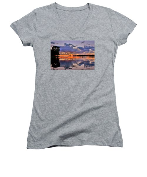 Spring Reflections Women's V-Neck