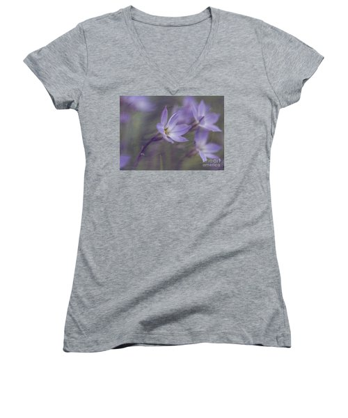 Spring Starflower Women's V-Neck