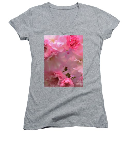 Spring With A Cherry On Top Women's V-Neck (Athletic Fit)