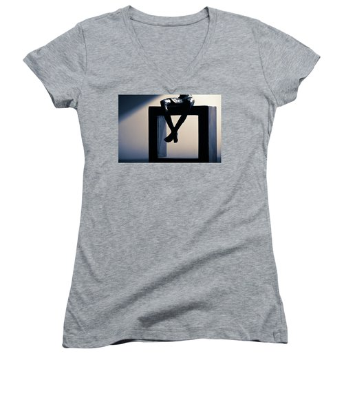 Square Foot Women's V-Neck