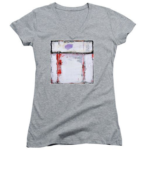 Art Print Square6 Women's V-Neck (Athletic Fit)