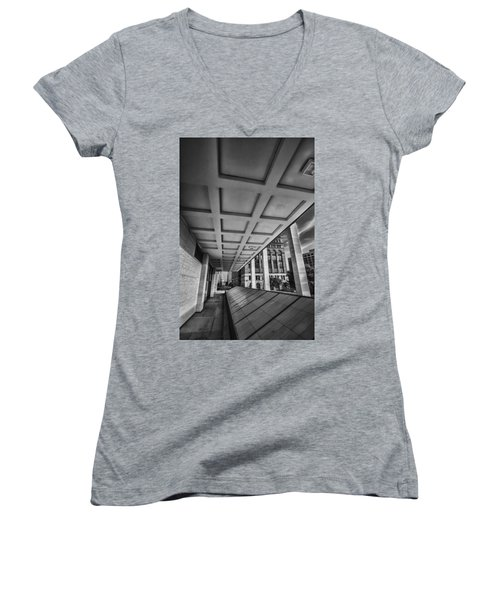 Squares Of Architecture   Women's V-Neck