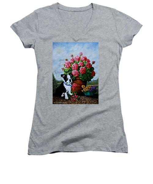 Srb Jonas Women's V-Neck T-Shirt