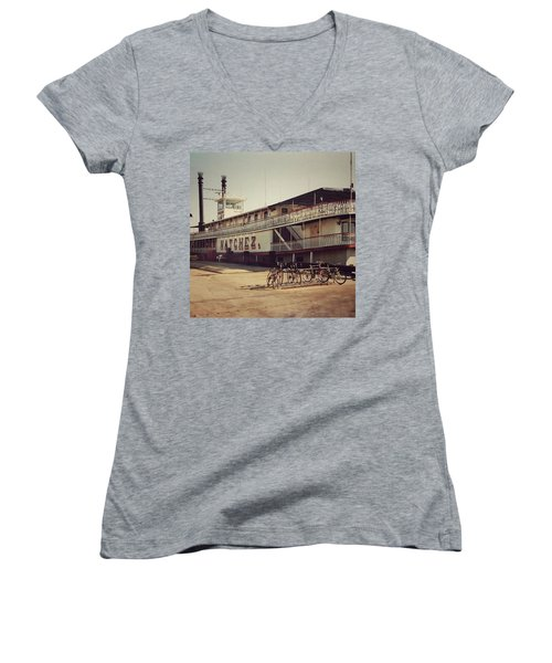 Ss Natchez, New Orleans, October 1993 Women's V-Neck