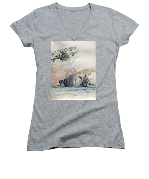 Ss Ohio IIi Women's V-Neck (Athletic Fit)