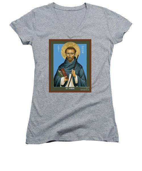 St. Dominic Guzman - Rldmg Women's V-Neck