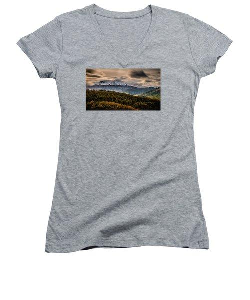 St. Helens Wrath Women's V-Neck T-Shirt