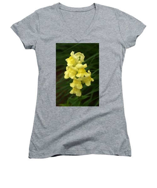 St. Johns Flower 866 Women's V-Neck