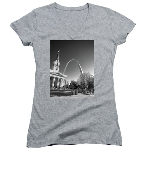 St. Louis Arch Women's V-Neck