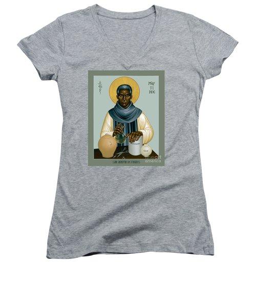St. Martin De Porres - Rlmpc Women's V-Neck
