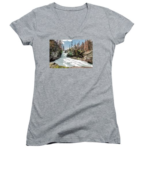 St. Mary Falls Women's V-Neck