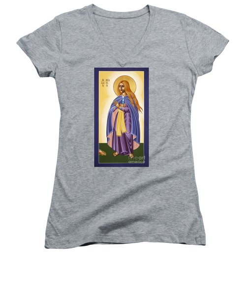 St Mary Magdalen Equal To The Apostles 116 Women's V-Neck