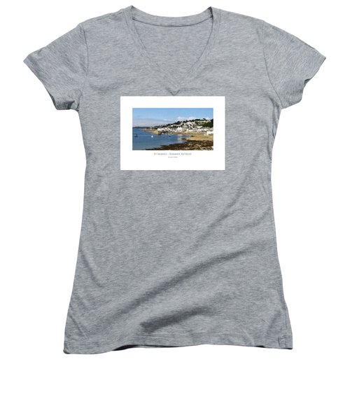 St Mawes - Summer Retreat Women's V-Neck