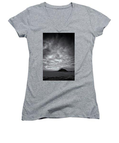 St Michael's Mount Women's V-Neck T-Shirt