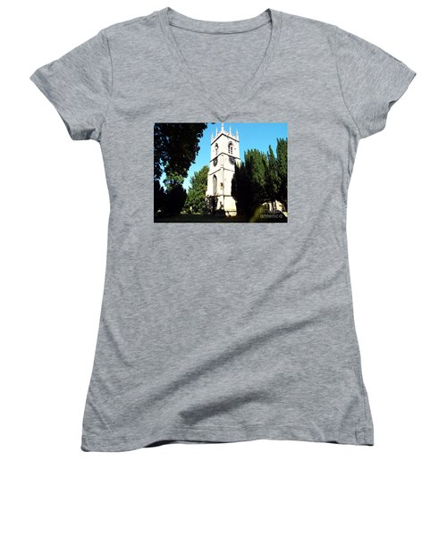 St. Michael's,rossington Women's V-Neck T-Shirt