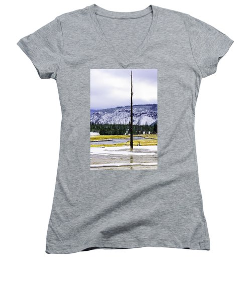 Standing Alone Women's V-Neck T-Shirt