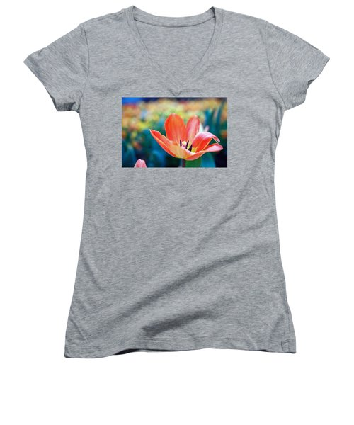 Standing Proud Women's V-Neck (Athletic Fit)