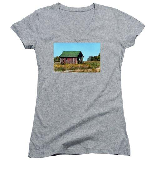 Standing Silent Women's V-Neck T-Shirt