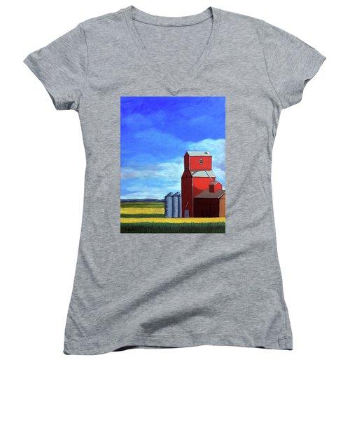 Standing Tall Women's V-Neck T-Shirt (Junior Cut)