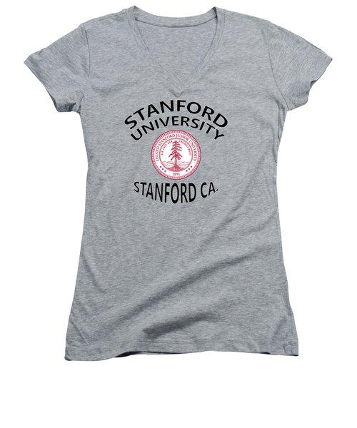 Stanford University Stanford California  Women's V-Neck