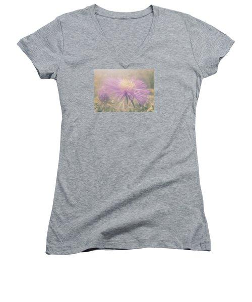 Star Mist Women's V-Neck T-Shirt