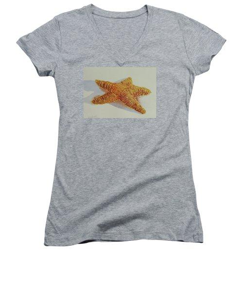 Starfish Women's V-Neck (Athletic Fit)