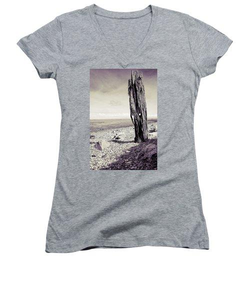 Stark Reality Women's V-Neck T-Shirt
