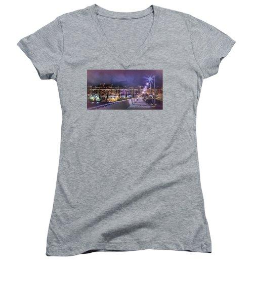 Starless Night Women's V-Neck T-Shirt