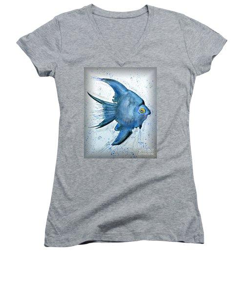 Startled Fish Women's V-Neck T-Shirt