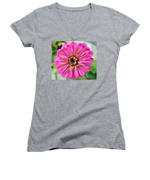State Fair Zinnia Women's V-Neck (Athletic Fit)