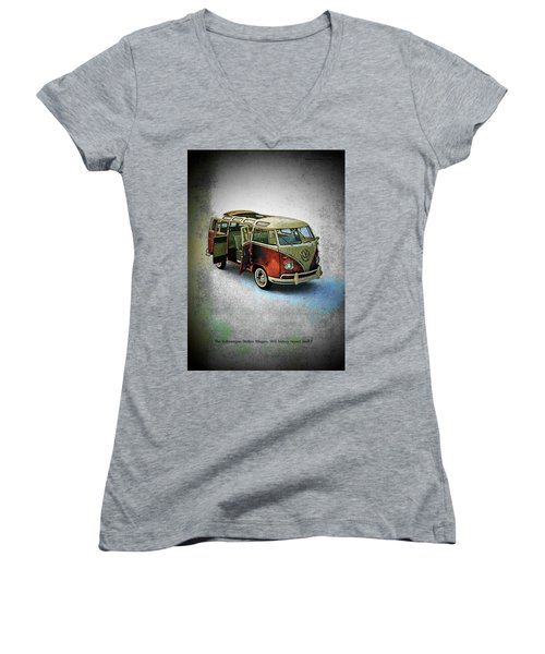 Station Wagon Women's V-Neck T-Shirt (Junior Cut)