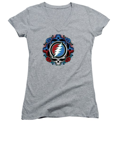 Steal Your Face - Ilustration Women's V-Neck (Athletic Fit)
